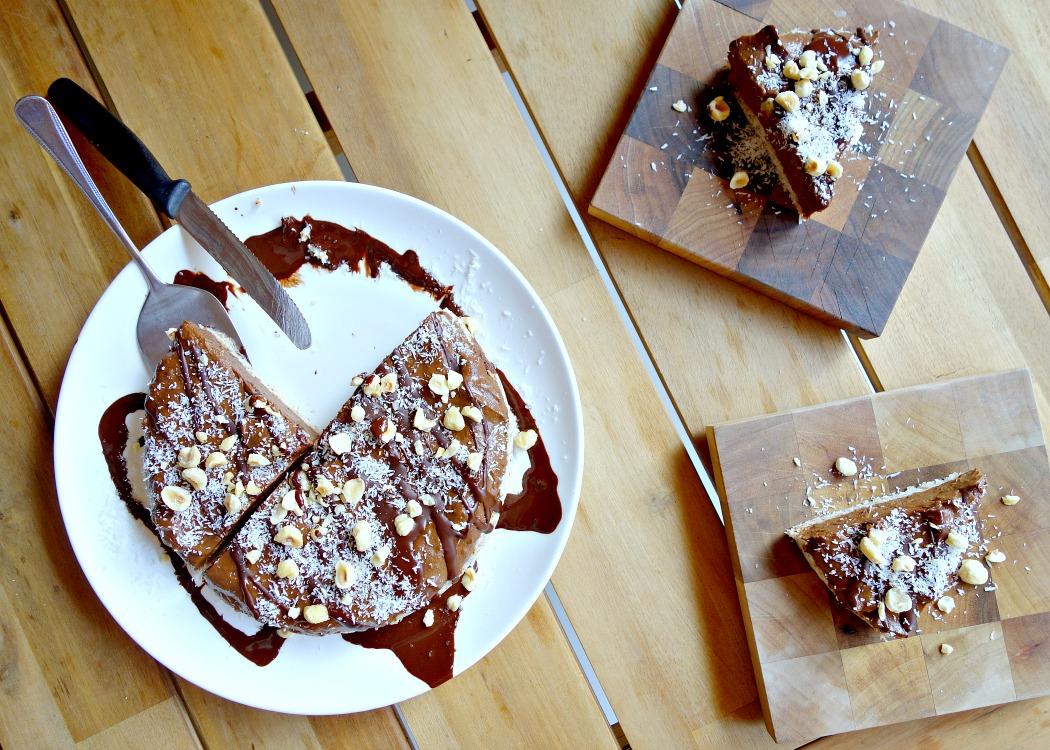 chocolade taart, Avocado, Healthyfoodlove