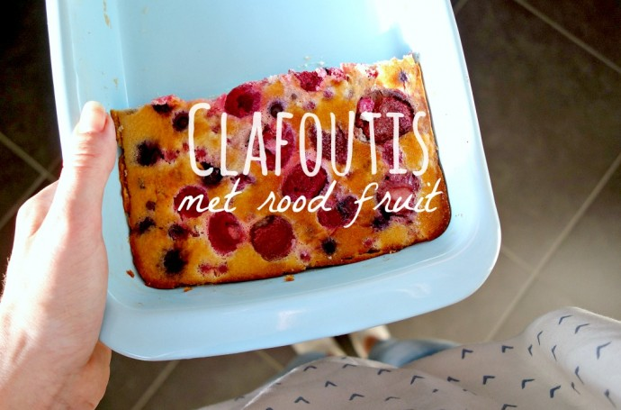 clafoutis met rood fruit