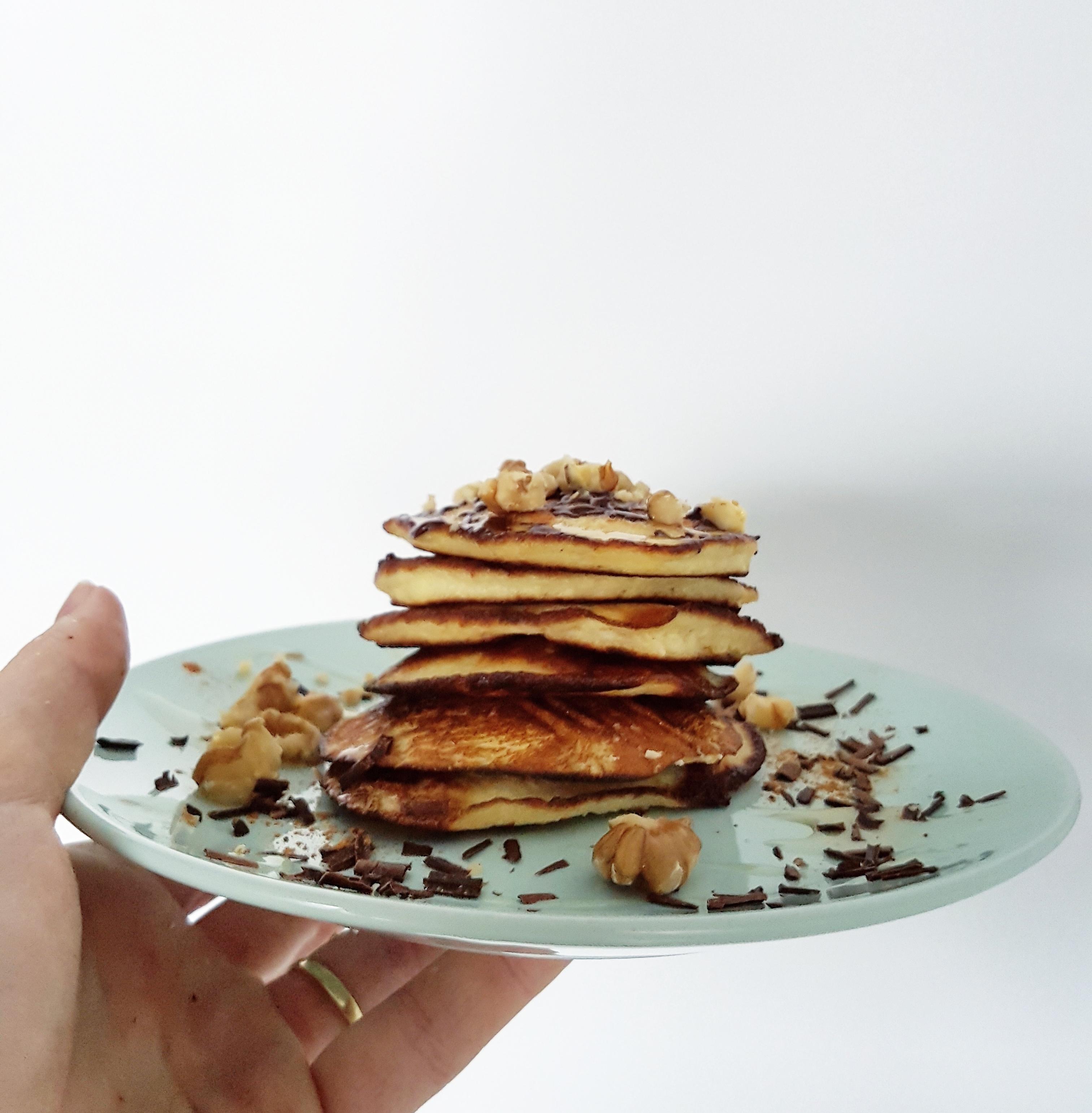 Ontbijtrecepten, kokos pancakes