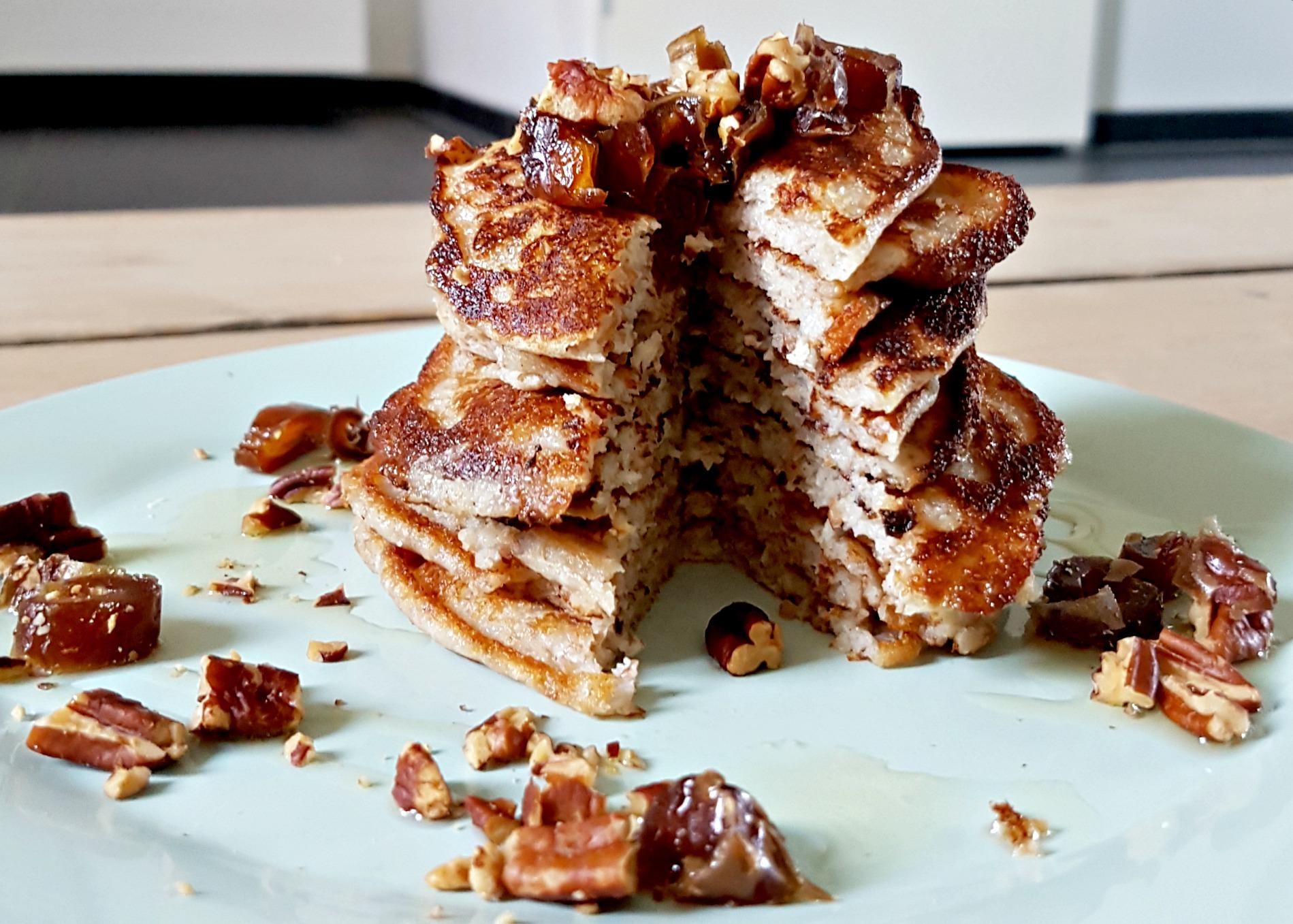 Kokos-spelt pancakes