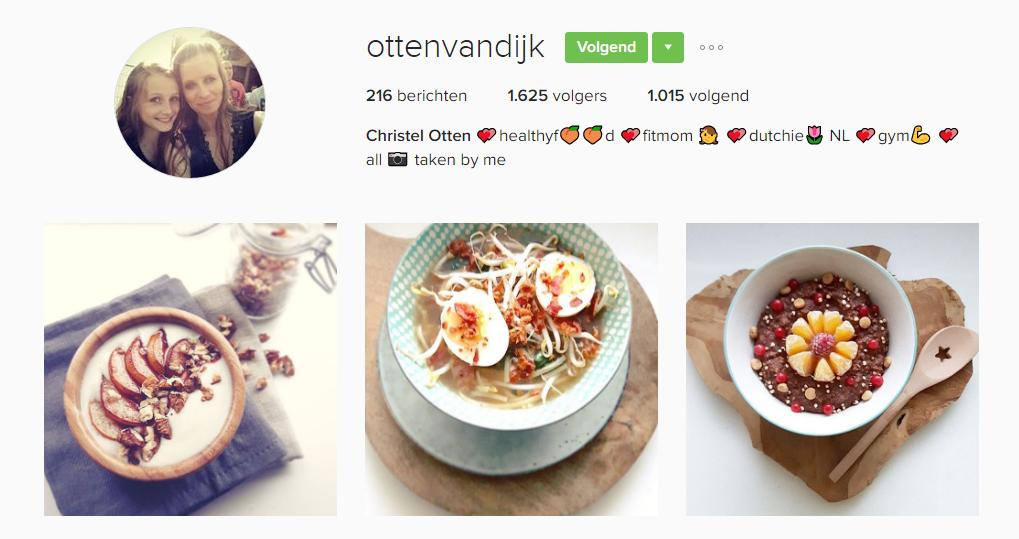ottenvandijk, Foodies op instagram