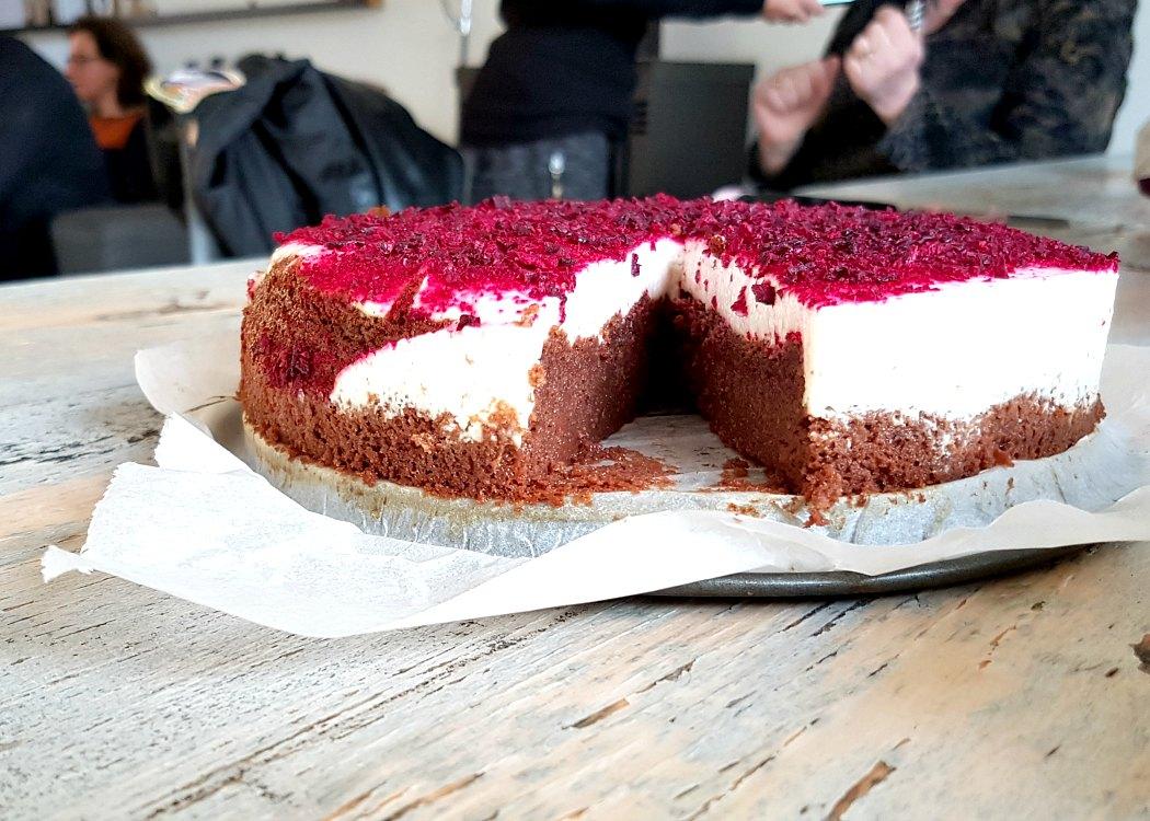 brownie taart
