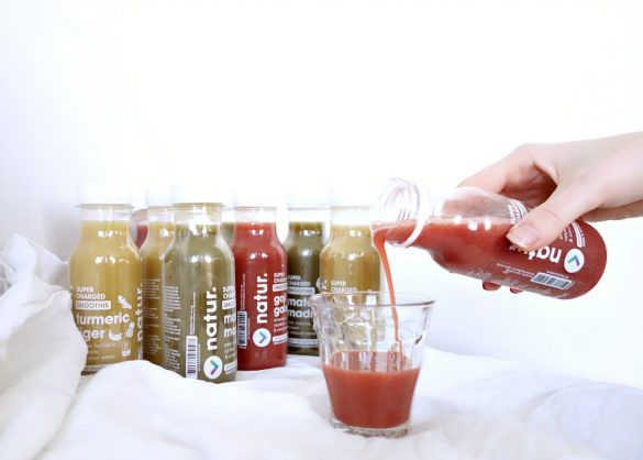 Natur supercharged smoothies