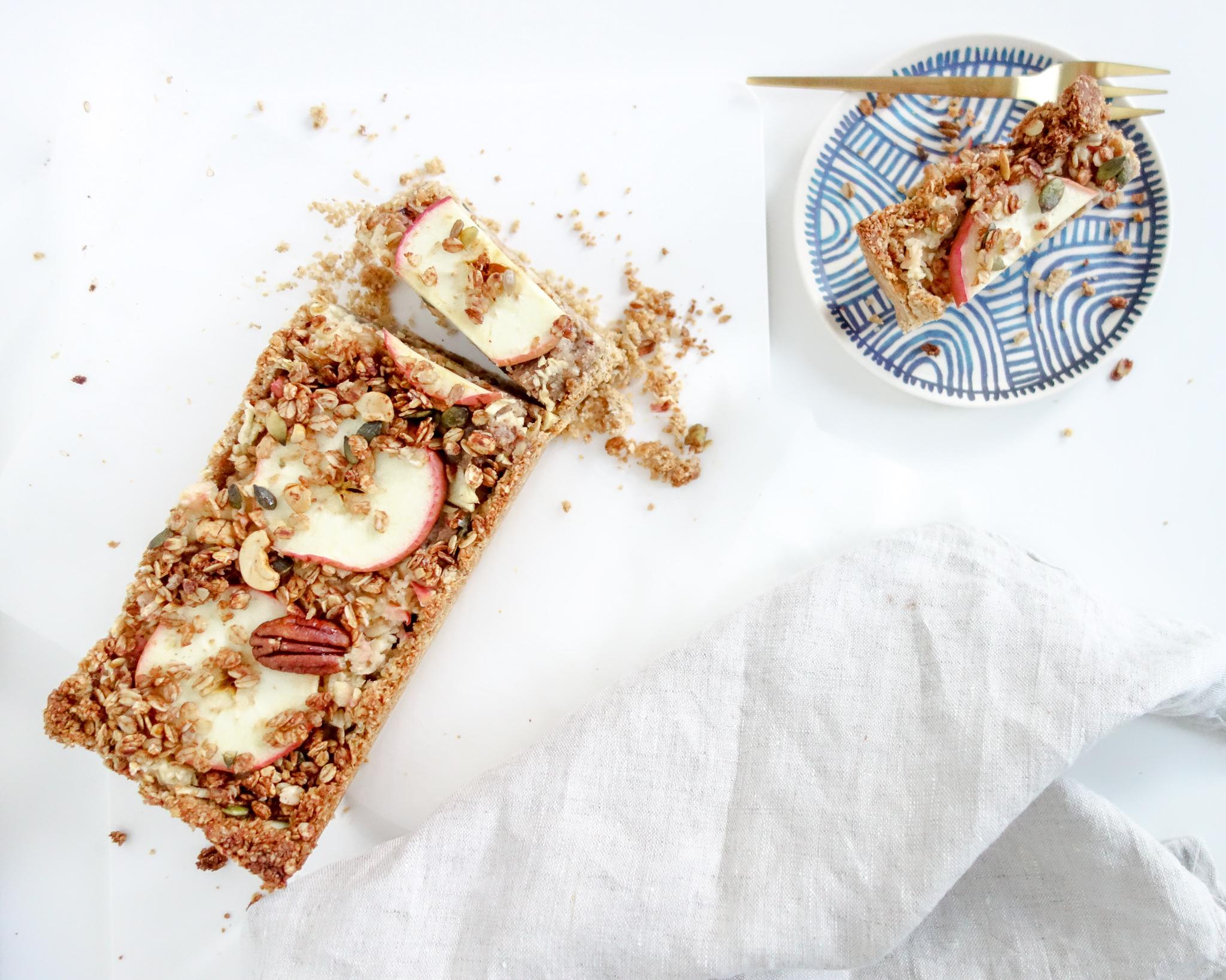 Gezonde glutenvrije appeltaart