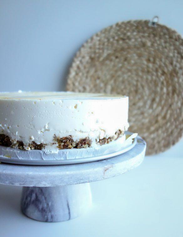 gezonde yoghurt cheesecake