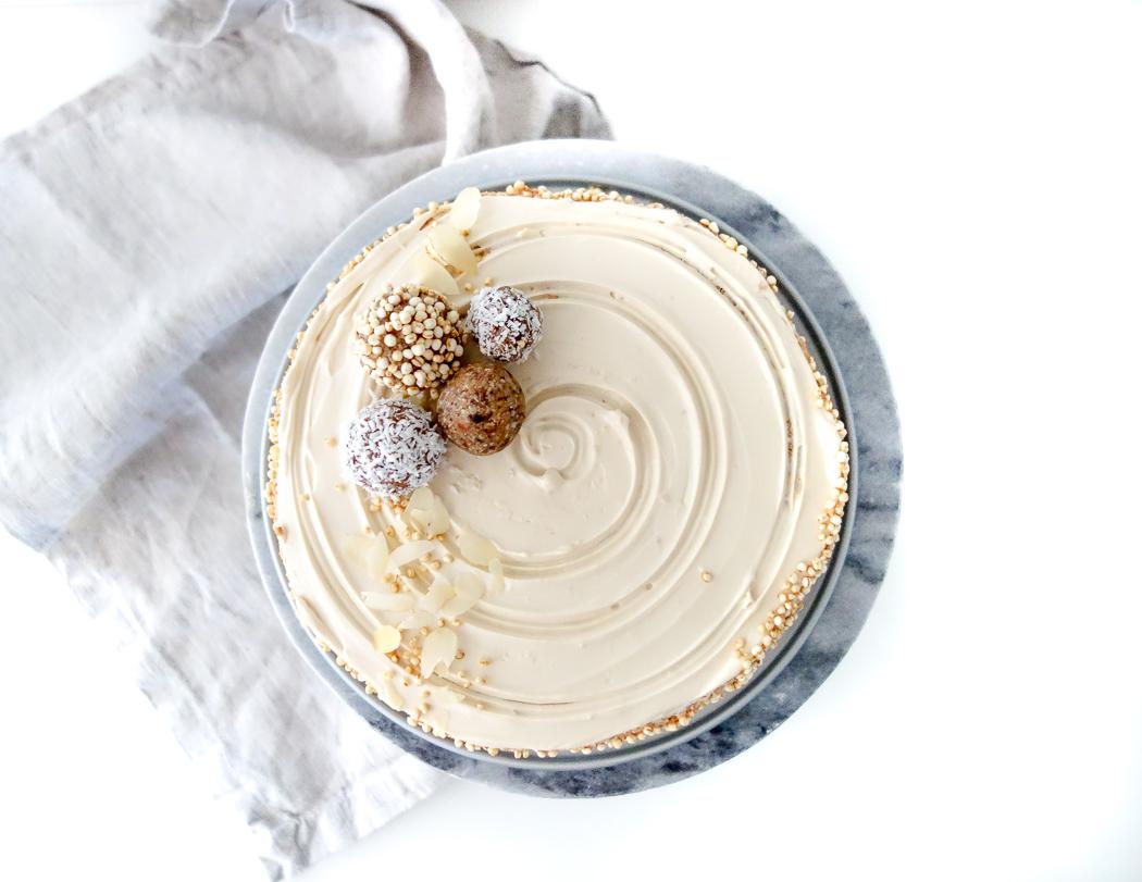 koffie caramel cheesecake