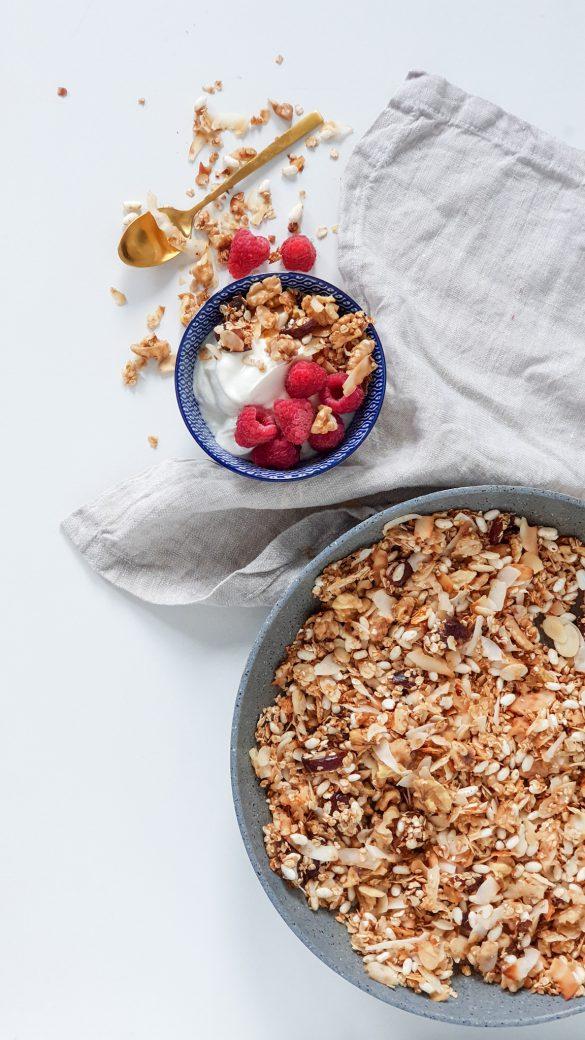 snelle granola recept