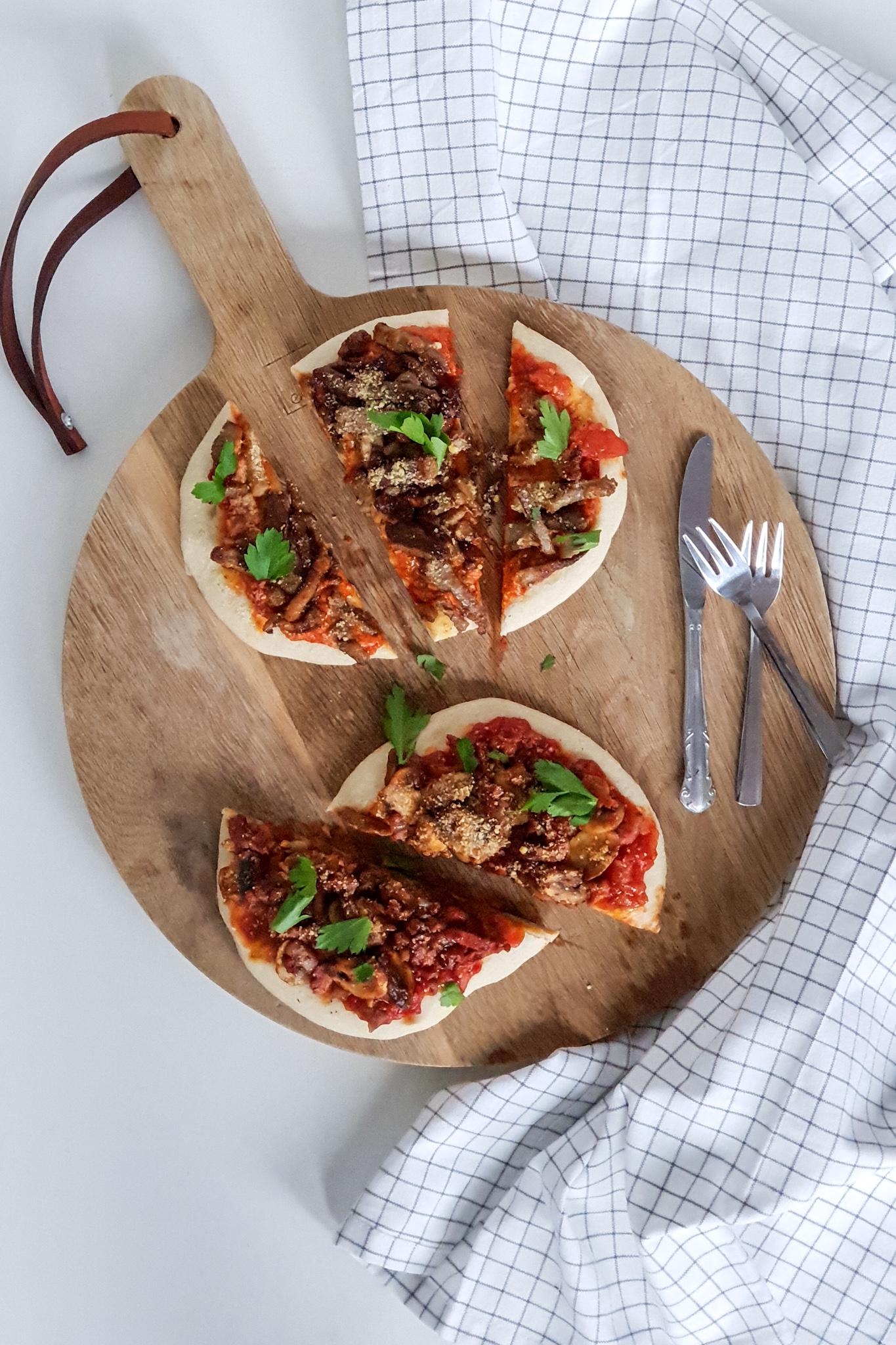shoarma pizza