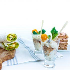 gezonde kleine lunchhapjes
