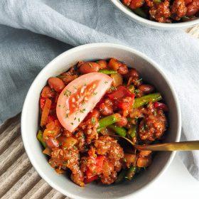 vega chili con carne