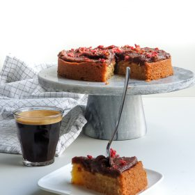 Plantaardige cake